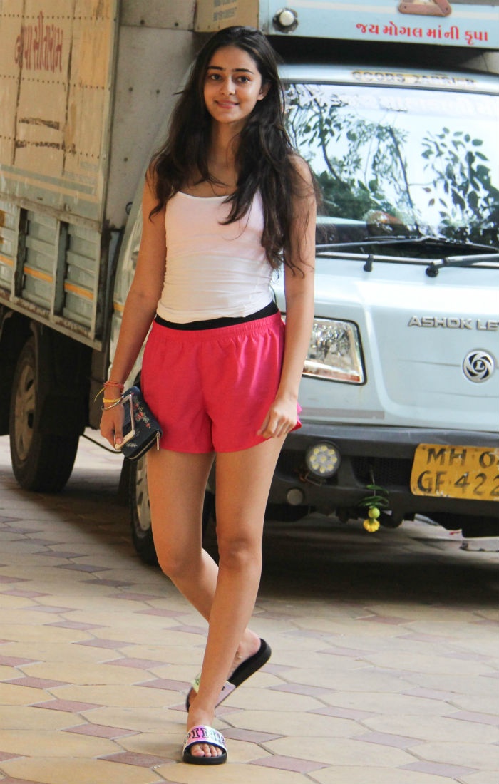India Tv - Chunky Pandey's daughter Ananya