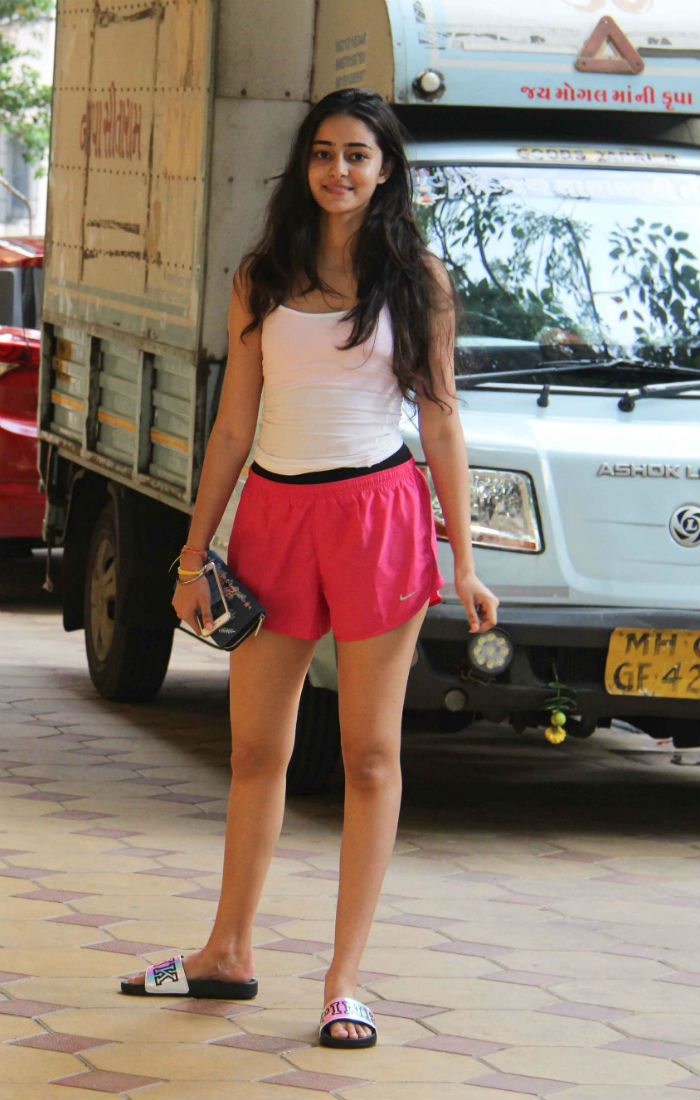 India Tv - Ananya Pandey's viral pic