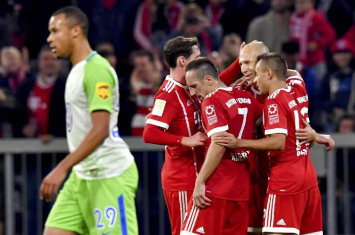 Bayern Munich Blows 2-Goal Lead, Settles for Draw vs. Wolfsburg