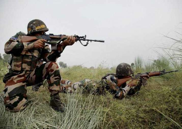 Representational pic - Pakistan violated opens fire along