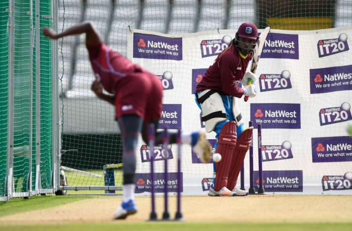 Windies triumph on miserable evening in Durham