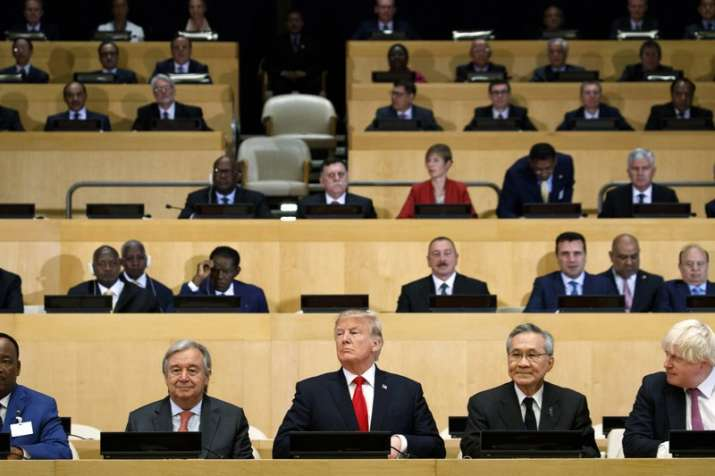 Trump Makes First Speech to UN General Assembly This Week