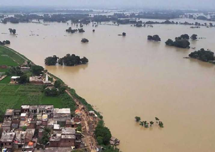 File pic - Uttar Pradesh flood situation grim, toll rises
