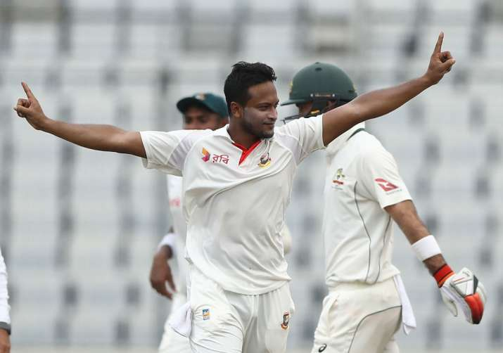 Shakib named Bangladesh Test skipper