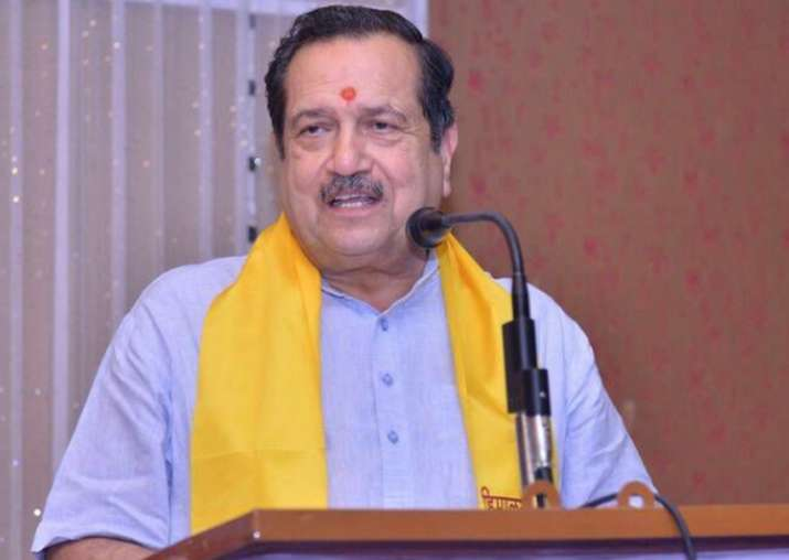File pic of RSS functionary Indresh Kumar