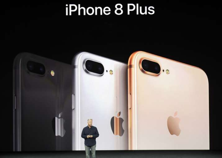 Phil Schiller during the launch of iPhone 8, iPhone 8Plus