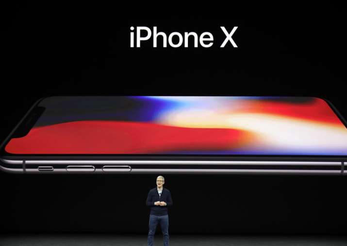 India Tv - Tim Cook announces the new iPhone X