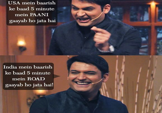 India Tv - Kapil Sharma's funny punchline from his show