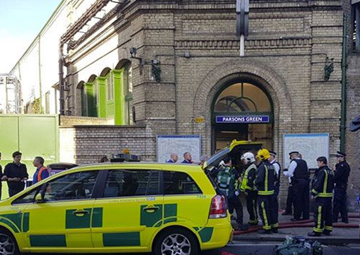 London Parsons Green Tube Terror Attack