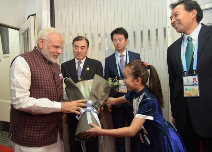 PM Modi arrives in Xiamen to attend BRICS Summit