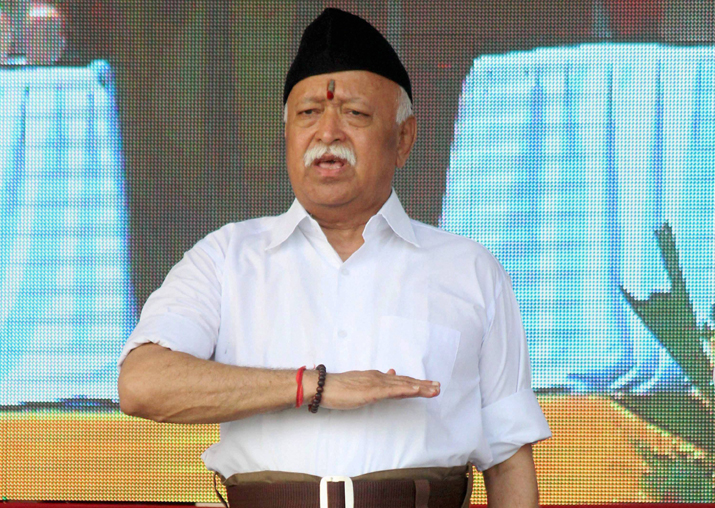 Mohan Bhagwat says cow-protection issue 'goes beyond religion'