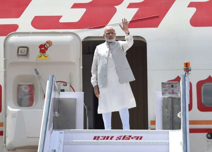 PM Modi leaves on a five-day visit to China, Myanmar
