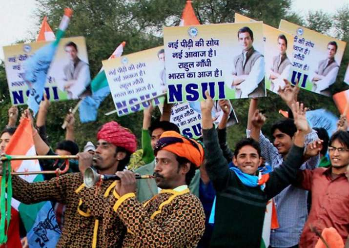 NSUI alleges tampering of DUSU results at behest of PM
