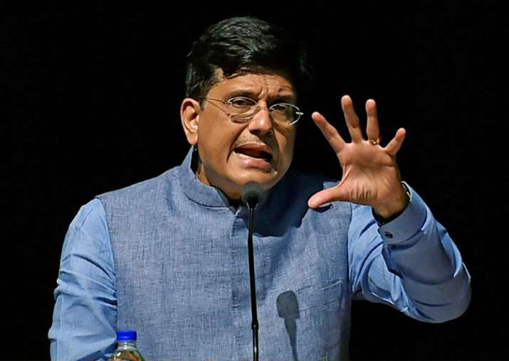 Piyush Goyal speaks at the Indian Institute of Management,