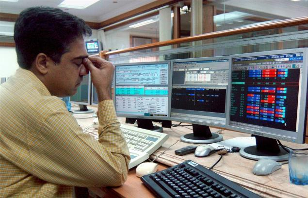 Sensex lost over 300 points in intra-day trade today
