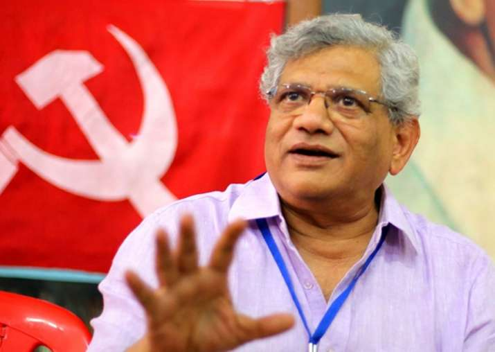 File pic of CPI(M) general secretary Sitaram Yechury