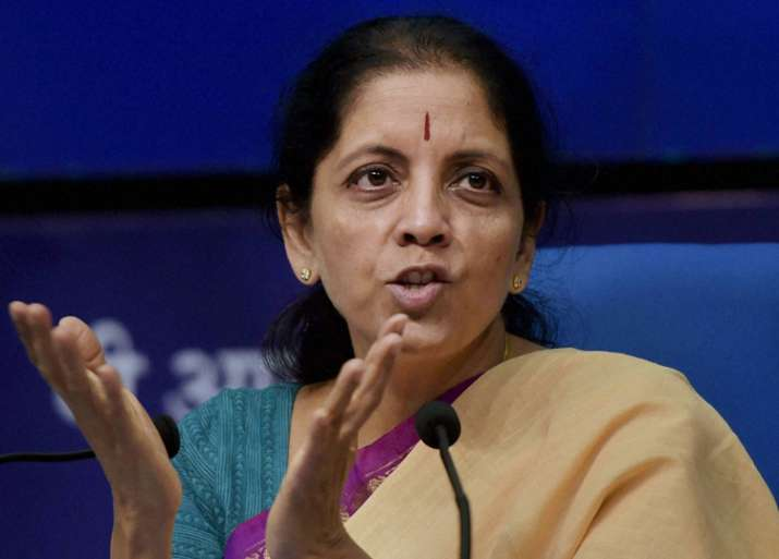 File pic of Nirmala Sitharaman