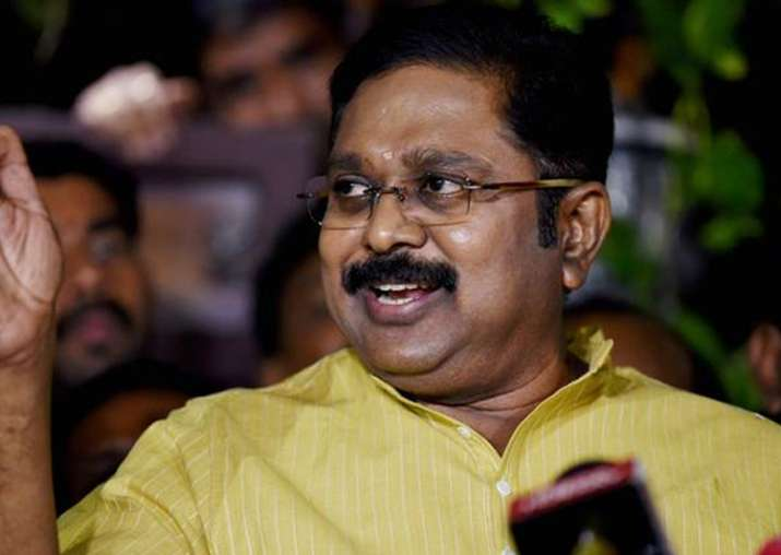 File pic of TTV Dhinakaran