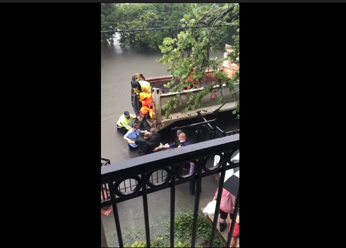 hurrican harvey houston pregnant woman