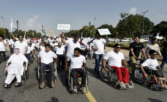 wheelchair rally, mahesh sharma