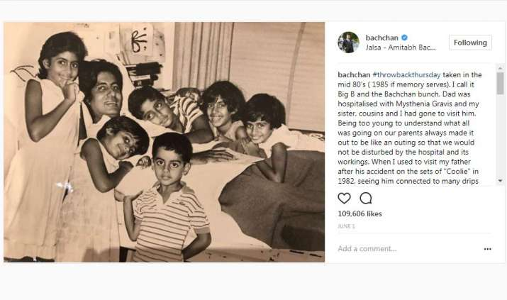 India Tv - Abhishek Bachchan coolie accident throwback picture