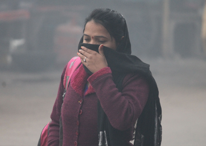 File pic - Air pollution intensifies in Delhi-NCR, warning