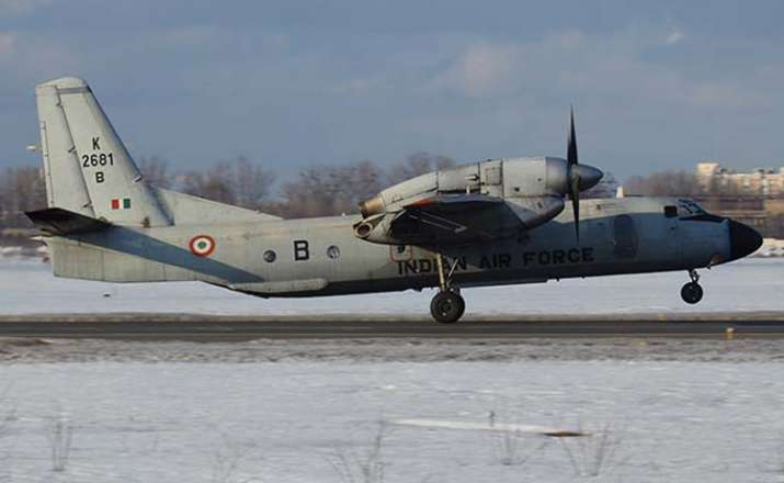India Tv - File photo of Indian Air Force's AN-32 transport aircraft