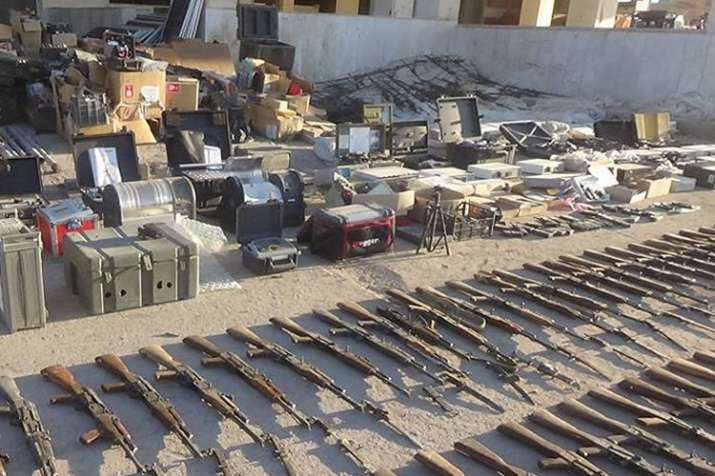 Syrian Army recovers gigantic cache of lethal weapons as it