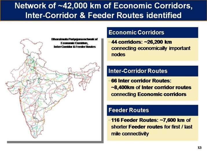 India Tv - A special emphasis has been given on north east infra under Bharatmala project