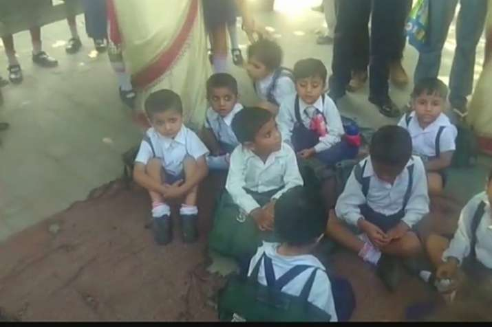School Children Fall Ill Due To Inhaling Toxic Fumes In Shamli