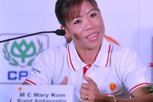 Image result for Mary Kom, Sarita in Asian Championships squad