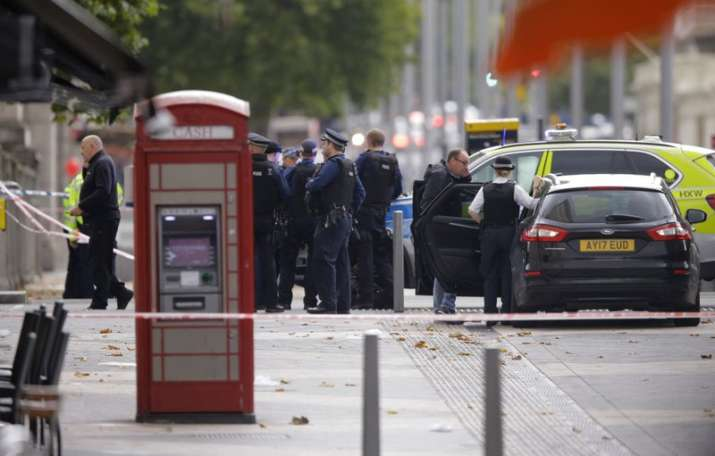 Several injured as vehicle  hits pedestrians near London museum, suspect detained