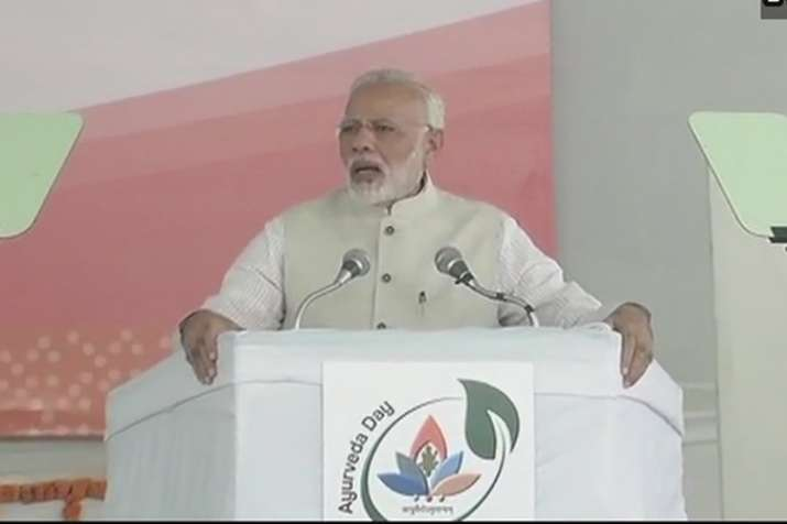 Modi Inaugurates First Ever All India Institute Of Ayurveda