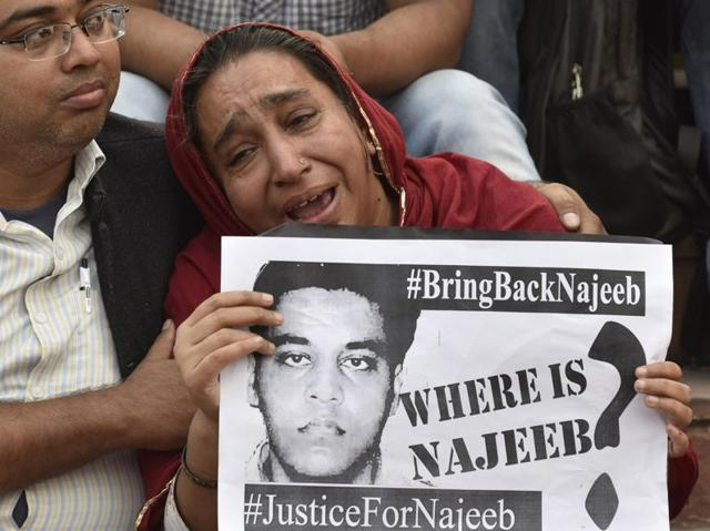 'Complete lack of interest' by CBI in tracing Najeeb Ahmed: