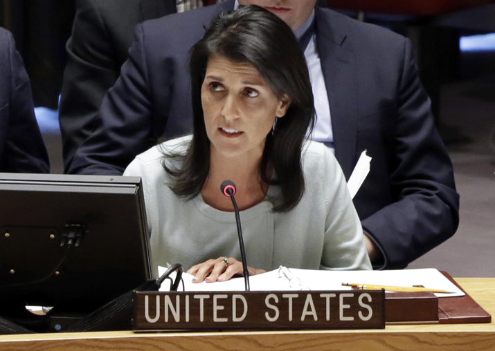 Key is not to touch veto: U.S.  envoy to UN