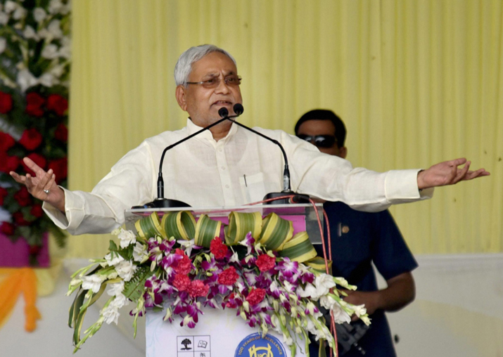 Image result for Nitish Kumar left disappointed