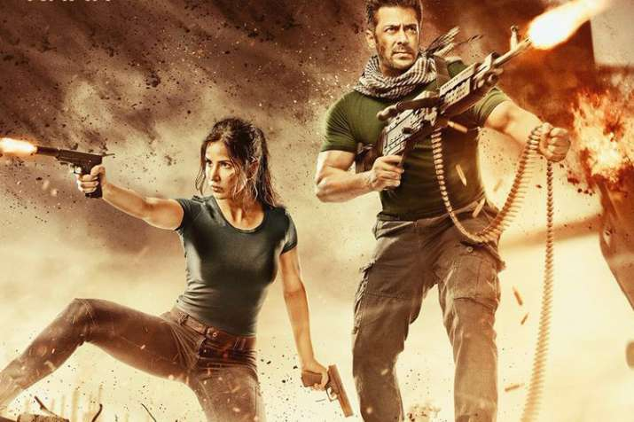 Salman Khan shares second poster of Tiger Zinda Hai