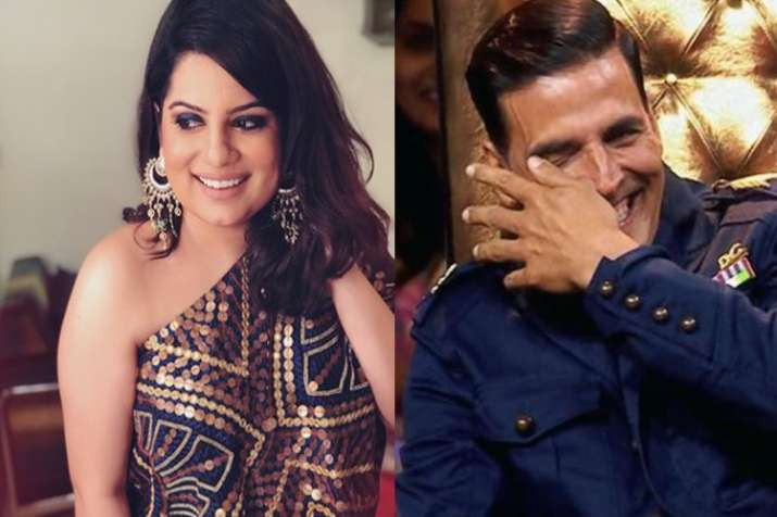 Mallika Dua, Akshay Kumar The Great Indian Laughter Challenge