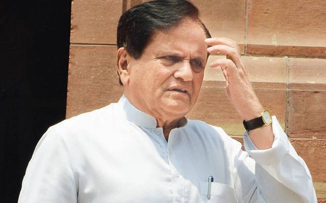 Ahmed Patel writes to Rajnath Singh on arrests of alleged terrorists
