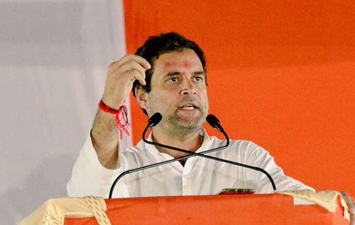 'GST is actually Gabbar Singh Tax', says Rahul Gandhi in Gujarat