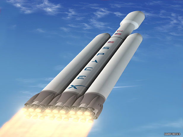 Spacex Falcon Heavy should launch in the next 37 days