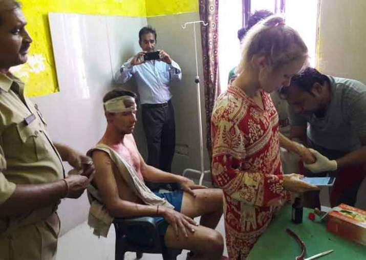 Swiss couple attacked in Fatehpur Sikri