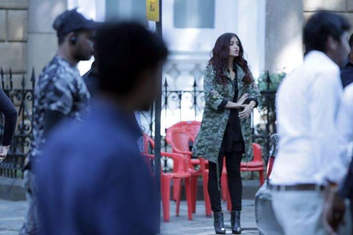 Abhishek-Aishwarya snapped at Manish Malhotra's house with Karan Johar