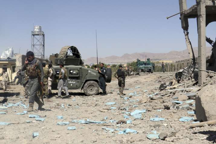 Taliban fighters attacked 15 security posts in a night and