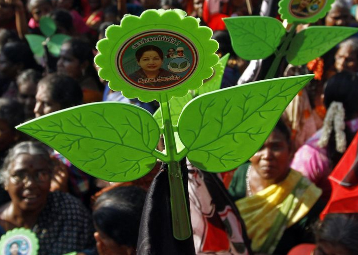 Two Leaves for 'real AIADMK'; EC setback for Chinnamma