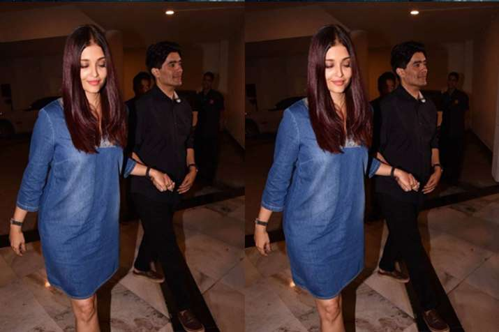 Abhishek warns photographer for clicking Aishwarya's picture