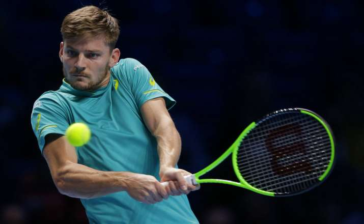 Goffin beats Federer at ATP Finals, faces Dimitrov in final