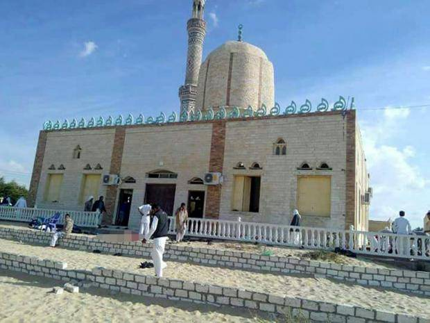 At least 155 killed in bomb blast, gun attack on mosque in