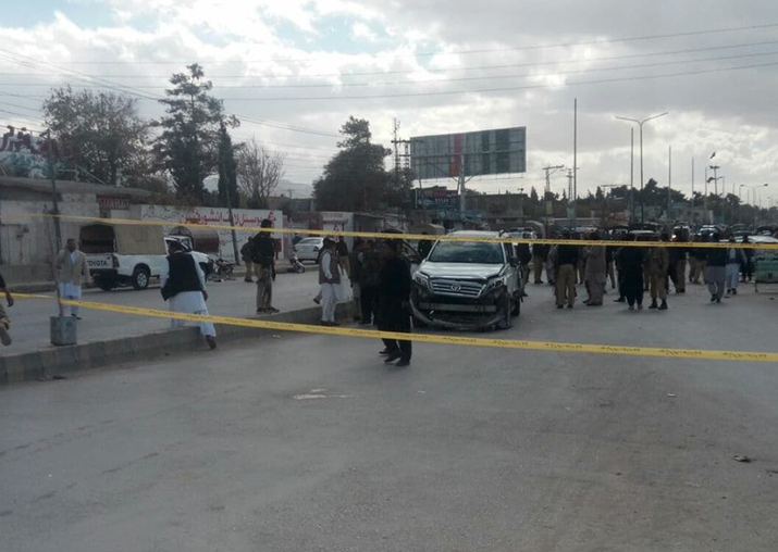 Four killed, 19 injured in explosion on Quetta's Sariab road