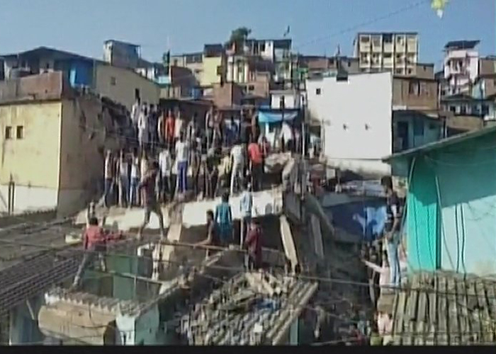 3-storey building collapses in Bhiwandi, 1 dead, 20 feared trapped